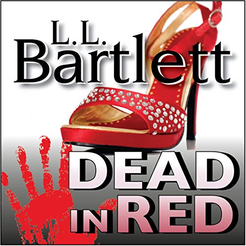 Dead in Red audiobook cover art