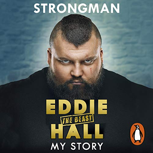 Strongman audiobook cover art