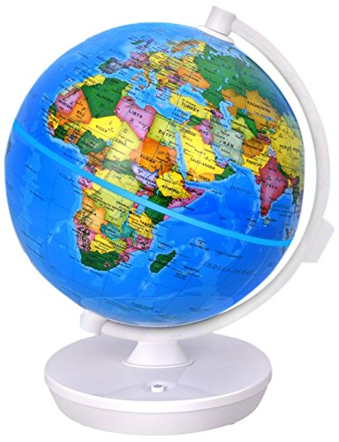 Oregon Scientific Starry Smart Globe Featuring Constellation Nightlight Augmented Reality World Geography Kids and Children's Learning Toy