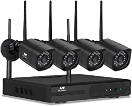 UL-tech CCTV Security Wireless Cameras System Home IP 1080P 4CH Long Range 1TB
