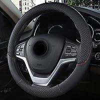 BMW E46 3シリーズのための革車のハンドルのカバースポーツのスリップ防止