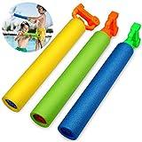 Dapei 3 Stücke Super Soaker Schaum Wasser Blaster Shooter Sommerspaß Außenpool Ga Spaß Spielen Gutes Geschenk Für Kinder