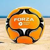 FORZA Balón de Fútbol Playa [Tamaño 3/4/5] | Balones de Futbol Playa en Talla 3, 4 y 5 | Balón de Playa Profesional | Balón de Partido FIFA Pro con 14 Paneles (Tamaño 5 (Adultos))