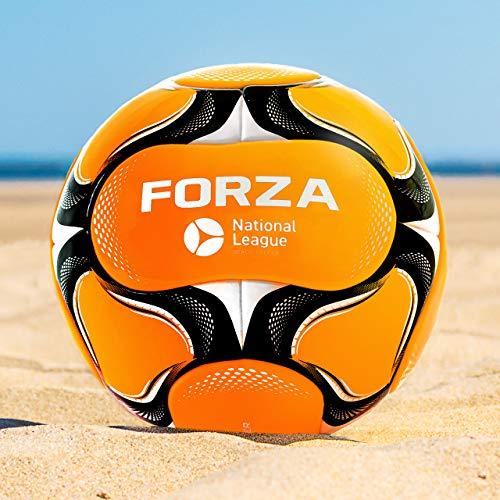 FORZA Balón de Fútbol Playa [Tamaño 3/4/5]   Balones de Futbol Playa en Talla 3, 4 y 5   Balón de Playa Profesional   Balón de Partido FIFA Pro con 14 Paneles (Tamaño 5 (Adultos))