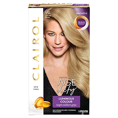 Clairol Age Defy Permanent Hair Dye 9A Light Ash Bl