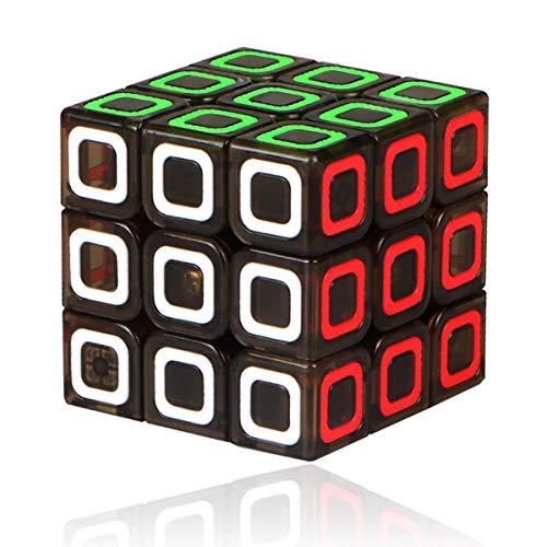 TOYESS Cubo de Velocidad 3x3 Stickerless, Cubo Mágico 3x3x3 Speed Cube, Rompecabezas Puzzle Juguetes para Adulto & Niños