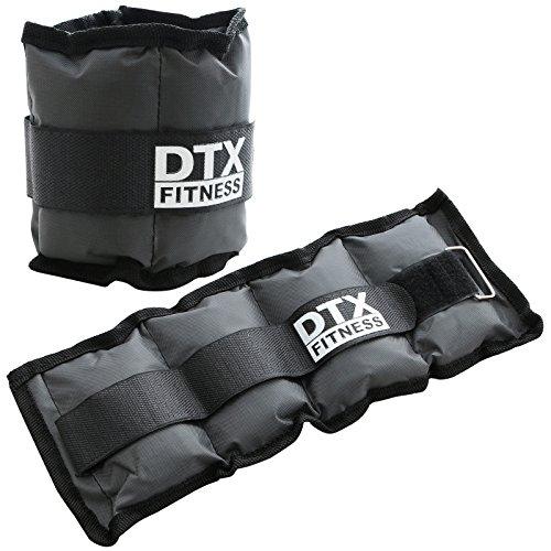 DTX Fitness - Gewichtsmanschetten für Handgelenke & Fußgelenke - Größe wählbar