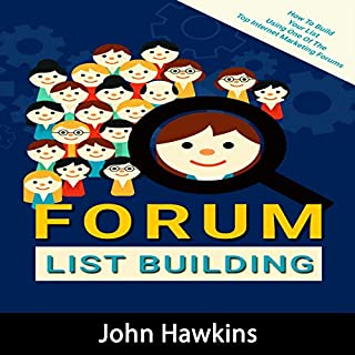 Forum List Building     Complete Guide to Using Lead Magnets and Landing Pages to Attract, Capture and Convert Prospects into Paying Clients              By:                                                                                                                                 John Hawkins                               Narrated by:                                                                                                                                 Susan L. Crawford                      Length: 1 hr and 3 mins     Not rated yet     Overall 0.0