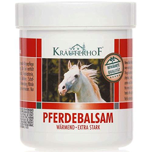 Baume de cheval Kräuterhof, Gel chauffant extra fort 100m