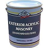 Exterior Acrylic Masonry (5L, White)