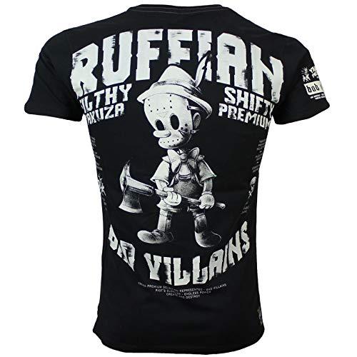Yakuza Premium Herren Special T-Shirt 2817 schwarz XL