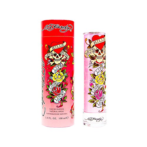 Ed Hardy Eau De Parfum Spray, Perfume for Women 3.4oz