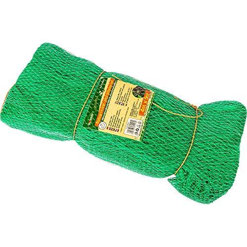 Browin 721602 Vogelnetz, Green Teichnetz Laubnetz Gartennetz Grün Laubschutznetz Pflanzenschutznetz für Teich, niversell, stark, Grammatur 20 g/m2, Größe 4x5m, 6 x 13 x 52 cm