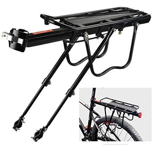 KMT Transportin Bicicleta Porta equipajes Trasero Parrilla Bici Soporte Aluminio