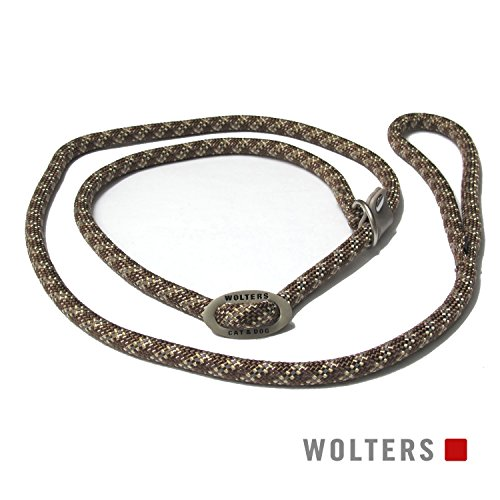 Wolters | Moxonleine Everest reflektierend in Tabac/Sand | L 180 cm x B 0,9 cm