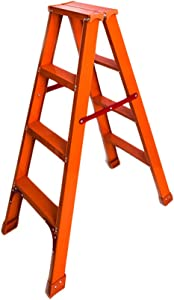 HJHLDT LYX  Double Ladder  Household Folding Ladder Ladders Thicken Aluminum Alloy Three Step Ladder Ascend Indoor Ladder Stairs Multi-function Ladder Bearing Weight 150kg