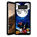 Phone Case Fit Samsung Galaxy Note 8 (2017) 6.3' Love Mickey Minnie Mouse and