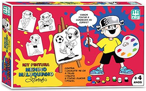 Brinquedo -Kit De Pintura Menino Maluquinho, Nig