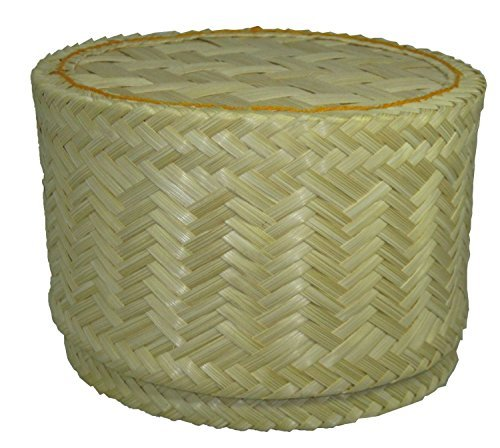 Thai Handmade Sticky Rice Serving Basket large size