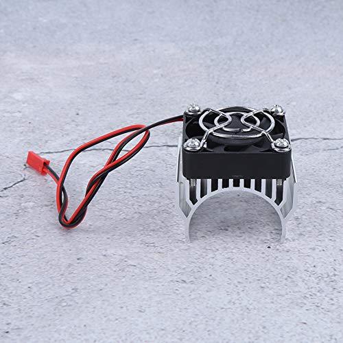 Dilwe 36MM Motor Kühlkörper Kühler Fin Fahrzeuge Kraftteile Passend für RC Car 540/3650/3660/3670 Motor Kits im Maßstab 1:10(Silber)