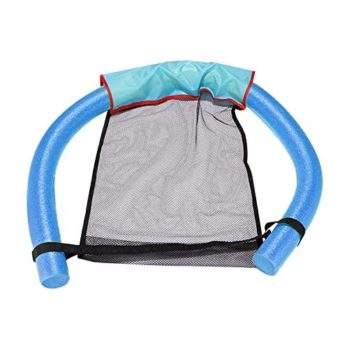 Sofá de aire de la silla inflable, fila flotante plegable CLORURO DE POLIVINILO Piscina Agua Hamaca Air Colchones Bed Beach Water Sport Schaunger (Color : TYPE 3)