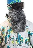 Beardski Great Wolf Grey Insulated Thermal Ski Motorcycle Warm Winter Beard Face Mask …