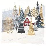 Paperproducts Design Mountain Lodge ランチペーパーナプキン ワールドアートグループ