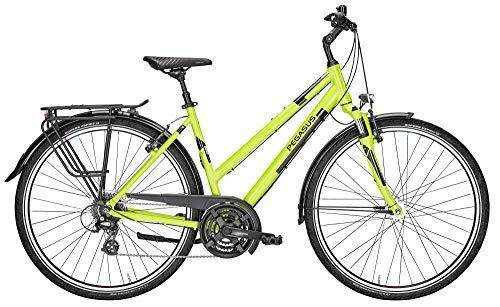 ZEG Pegasus Solero SL 24 Damenfahrrad 24 Gang Trekkingrad 2020, Rahmenhöhe:50 cm, Farbe:Lime