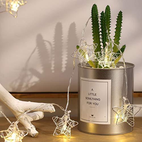 Lichtsnoer, accu/USB, binnen/buiten, led-verlichting, koper-snoer, fee lamp meisjes slaapkamer, party, bruiloft, kerstmis