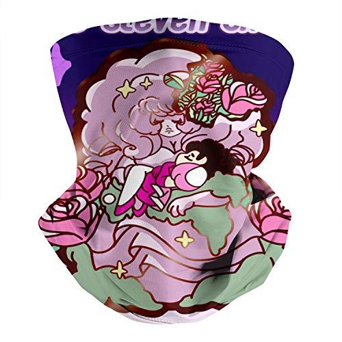 Scarf for Dust Steven-Universe-Rose-Enamel-pin- Neck Gaiter for Men/Women