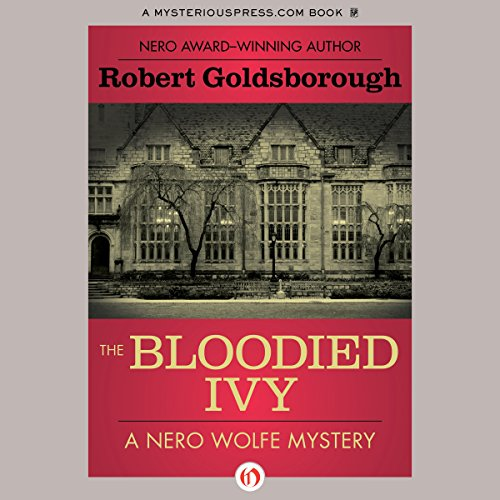 The Bloodied Ivy audiobook cover art