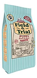 DIETARY NEEDS - Field & Trial Puppy & Junior Duck & Rice is a complete dog food, specially developed and formulated to support the early growth and development of puppies. Formulated without wheat, maize and barley making it ideal for sensitive puppi...