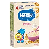 Nestlé Papilla Avena Integral - Alimento Para bebés - Paquete 6x600 g - Total: 3.6kg