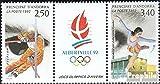 Prophila Collection Andorra - francés Correos Michel.-No..: 434-435 Banda de Tres (Completa.edición.) 1992 Juegos de Invierno (Sellos para los coleccionistas) Deportes de Invierno