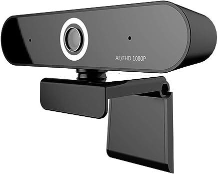 LJ2 Webcam, Messa a Fuoco Automatica Webcam 1080P, Fotocamera Digitale con Doppio Microfono per videoconferenza, Registrazione e Streaming (Nero) - Trova i prezzi più bassi