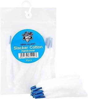 【正規品】Demon Killer Slacker Cotton電子タバコはVAPE RBA RDA RTA RDTA DIY用30条靴帯綿/60条精製脱脂綿 (1パック) (30条)