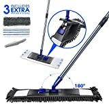 Best Floor Dusters - Microfiber Flat Mop with 2PCS Replaceable Mop Pads Review