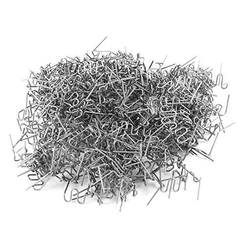 longyitrade Graffette Calde da 500 Pezzi da 0,8 mm per Macchina di Riparazione paraurti Saldatore di plastica
