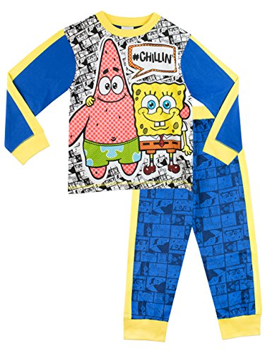 Spongebob Schwammkopf Jungen Schlafanzug 104