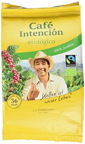 J.J. Darboven Cafe, Intencion ecologico Pads, 3er Pack (3 x 252 g)