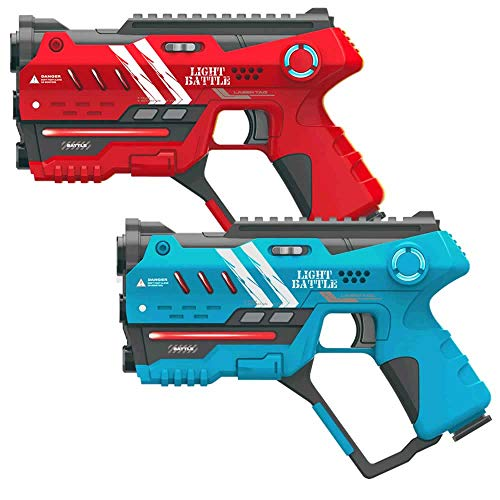 Light Battle Anti-Cheat Lasertag Set - 2X laserpistole (rot, blau) - LBAP10224AC