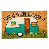 DII Natural Coir Doormat Sweet Home Mat, 18x30, Camper