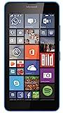 Microsoft Lumia 640 Smartphone, Display HD-IPS 5 Pollici, Processore Quad-Core 1,2 GHz, Fotocamera 8 MP, Batteria 2500 mAh, 3G & 4G LTE, Windows Phone 8.1, Blu [Germania]