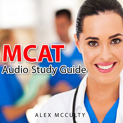 MCAT Audio Study Guide audiobook cover art