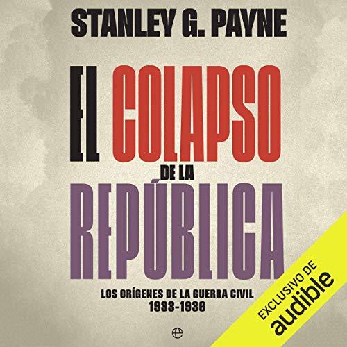 Diseño de la portada del título El colapso de la República