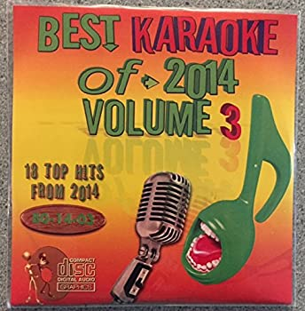 Best Of Karaoke 2014 Volume 3 CD+Graphics CDG 18 Pop & Country Tracks Sia Ariana Grande Charli XCX John Legend Meghan Trainor Sam Smith Kenny Chesney One Republic Florida Georgia Line Chase Rice