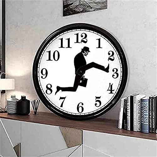 NFSQSR Reloj de Pared Silly Walk...
