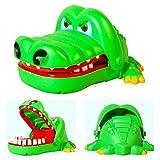 NiceButy niños cocodrilo mordedura de adultos niño niño niño dedo juego, regalo lindo juguete dentista boca de cocodrilo BabyProducts verdes