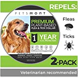 Best Flea Collar For Dogs - Petsmont Flea Collar for Dogs, Unique Plant Based Review