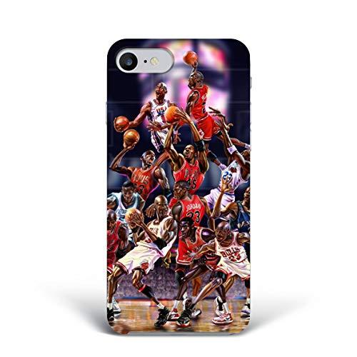 Michael Jordan Cover 6 Smartphone Custodia per Tutti Modelli Apple iPhone Samsung Huawei Idea Regalo Collezione Telefono Team NBA Sport Basket Chicago Bulls Basketball Pallacanestro Game Day Player